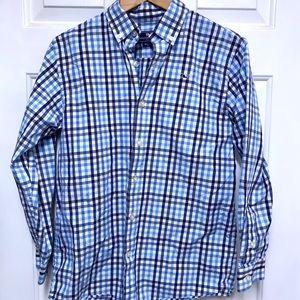 Boys Vineyard Vines Whale Shirt Button Down